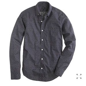 J. Crew Slim Indio Floral Button Down Shirt Small